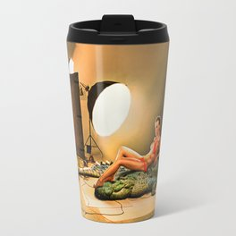 Dangerous photoshoot Travel Mug