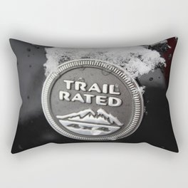 Trail Rated Jeep Rectangular Pillow