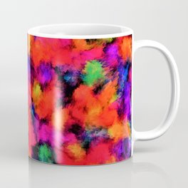 Bright Rainbow Colors Coffee Mug
