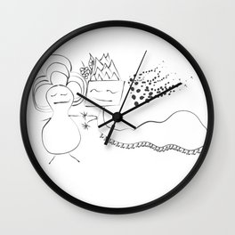 Love in all forms Wall Clock