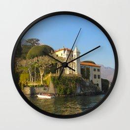 Villa del Balbianello Wall Clock