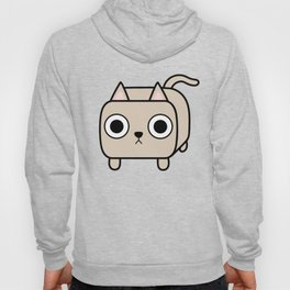 Cat Loaf - Cream Kitty Hoody