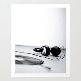 'phones 1 Art Print