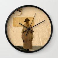 sand Wall Clocks featuring SAND// by Matt McCann
