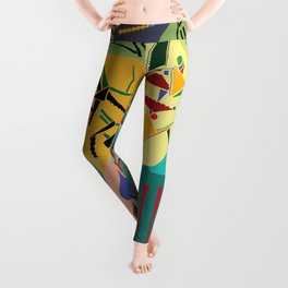 collage play Leggings