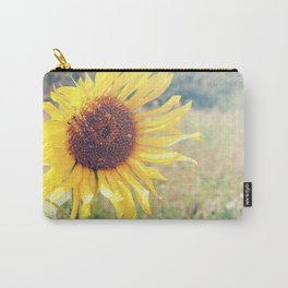 Sunflower Meadow Carry-All Pouch