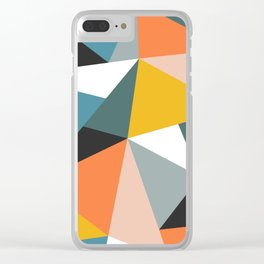 Modern Geometric 36 Clear iPhone Case