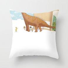 Book Dinossaur Throw Pillow