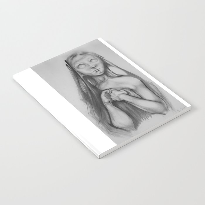 Portrait of a girl Notebook