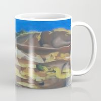 dune Mugs featuring Dune by Ana Rafael