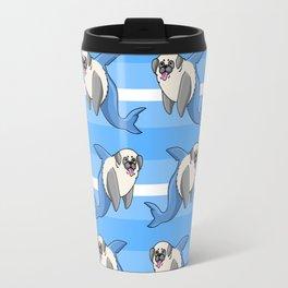 Sharky Pug Travel Mug
