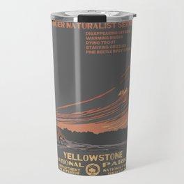 National Parks 2050: Yellowstone Travel Mug