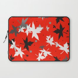 Forever Autumn Leaves red 5 Laptop Sleeve