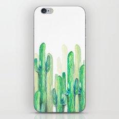 cactus vertical iPhone & iPod Skin