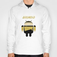 android Hoodies featuring Android by dextifire