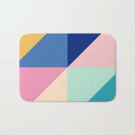 Bold Colorful Geometrics Bath Mat
