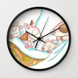 Pigs in a Blanket Wall Clock