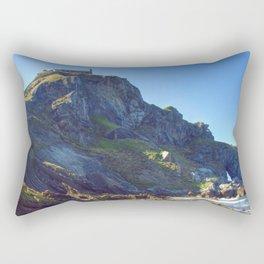 San Juan de Gastelugatxe Rectangular Pillow