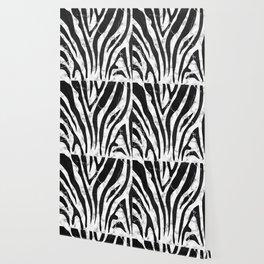 Marble zebra pattern new modern stripes design Wallpaper