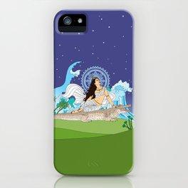 Ganga of the Himalayas iPhone Case