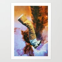 cigarette Art Prints featuring Cigarette by John Turck