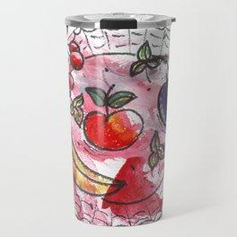 Fruit on a platter Travel Mug
