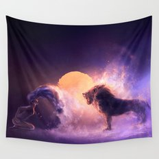 LEO from the Dancing Zodiac Wall Tapestry