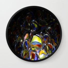 Marbles Illuminated Wall Clock