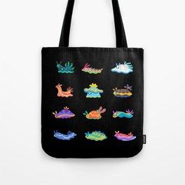 Sea slug - black Tote Bag