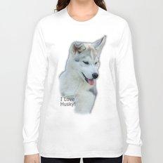 Husky puppy Long Sleeve T-shirt