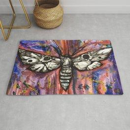 Splatter Moth Rug