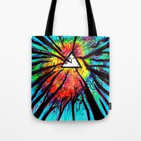 floyd Tote Bags featuring Floyd Forest by TheSeed91