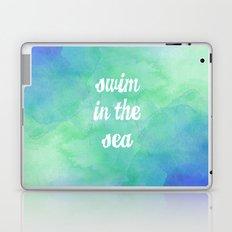Swim in the Sea Laptop & iPad Skin
