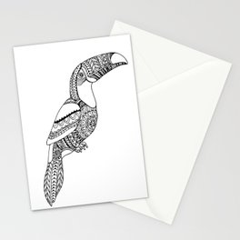 loro, parrot Stationery Cards