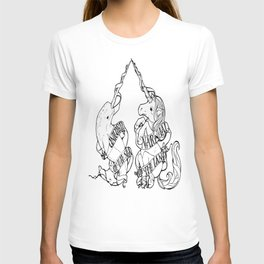 Unicorn of the Sea/Narwhal of the Land T-shirt