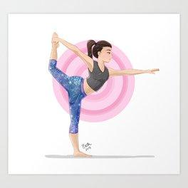 Dancer's Pose Art Print