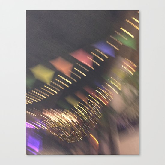Lights and Pennants Canvas Print