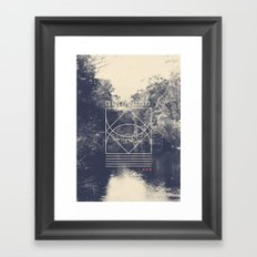 Quietude Framed Art Print