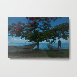 Tropics Beauty Metal Print