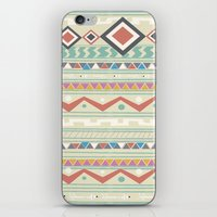 native iPhone & iPod Skins featuring Native by Nika