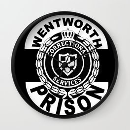 Wentworth Prison Wall Clock
