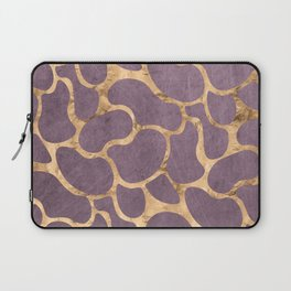Gold and Purple Laptop Sleeve
