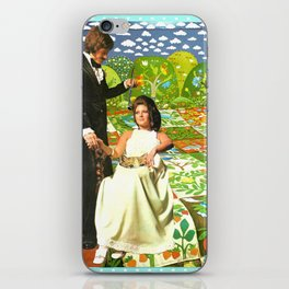 Utopia handcut collage iPhone Skin