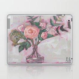 Pops of Hot Pink Florals Laptop & iPad Skin