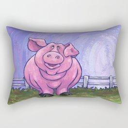 Animal Parade Pig Rectangular Pillow