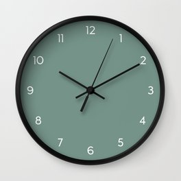 Boho Minimal Numbered Wall Clock // 36 Wall Clock