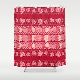 Herzmuster Shower Curtain