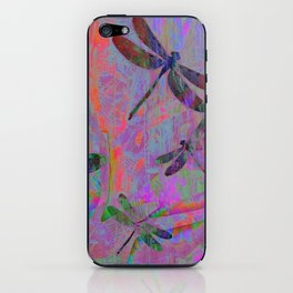 Dragonfly Opal iPhone Skin