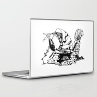 crab Laptop & iPad Skins featuring Crab by Cowbird