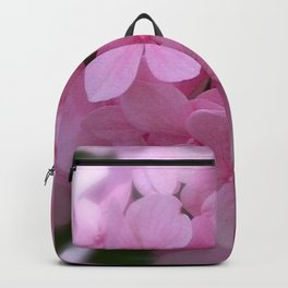 Pink Hydrangea - Flower Photography Backpack